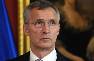 NATO chief in Warsaw