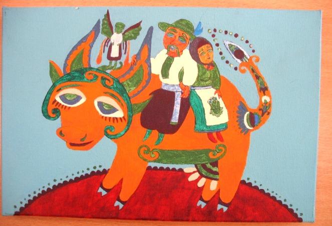 Картина намальована в художній школі у Варшаві