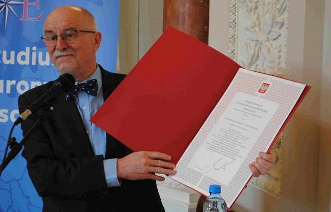 Основатель награды имени Ивана Выговского, директор Центра восточноевропейских исследования Ян Малицкий