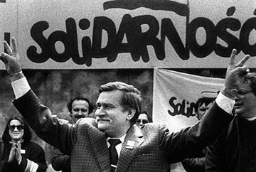 Lech Walesa, June 1989: photo -IPN