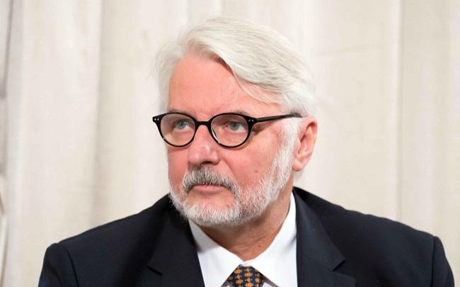 Глава польской дипломатии Витольд Ващиковский.