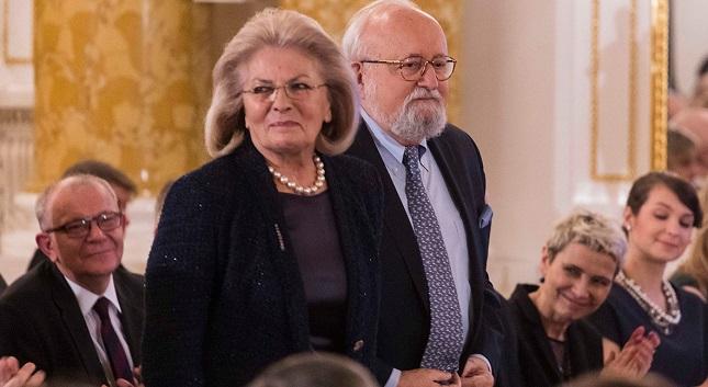 Elżbieta und Krzysztof Penderecki