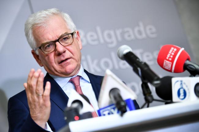 Polish Foreign Minister Jacek Czaputowicz. Photo: PAP/Jacek Turczyk