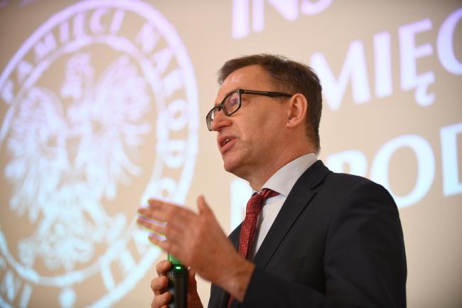 Голова Інститут національної пам'яті Польщі Ярослав Шарек