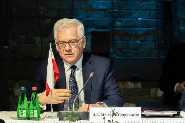 Jacek Czaputowicz. Photo: Jacek Indra/MSZ