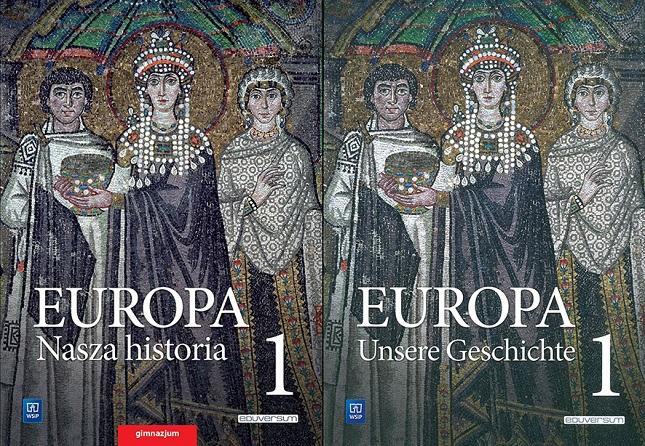"""Neue Geschichtsbücher """"Europa – Nasza historia"""" / """"Europa – Unsere Geschichte"""" auf Polnisch und Deutsch."""