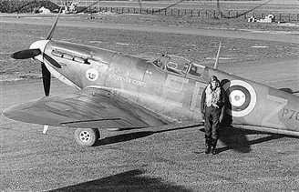 Polish Spitfire pilot leads RAF hero poll