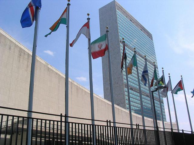 Siedziba ONZ w Nowym Jorku. Zdjęcie ilustracyjne