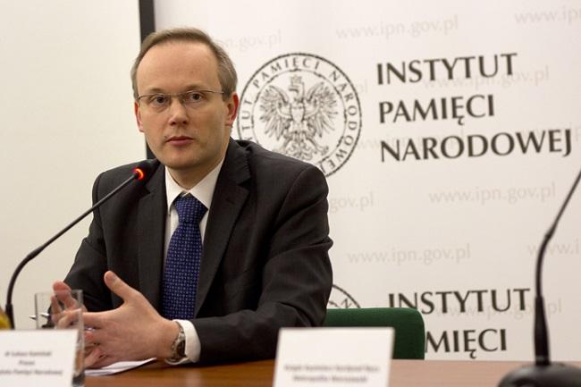 Глава Института национальной памяти Лукаш Каминский. Фото: ipn.gov.pl