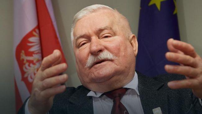 Бывший президент Польши Лех Валенса (архивная фотография, датированая 08.12.2016 г.)