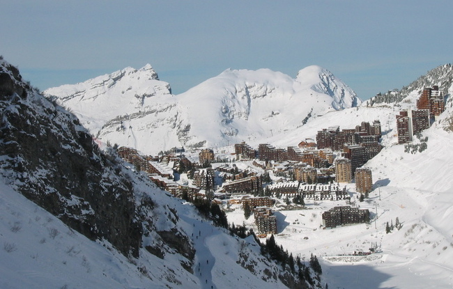The Avoriaz resort in the French Alps. Photo: wikicommons/Anne L.