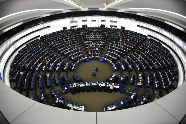 The European Parliament in Strasbourg, France. Photo: EPA/PATRICK SEEGER