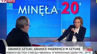 Polish TV journalist cleared by ethics commitee