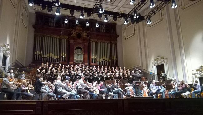 The Warsaw Philharmonic performs at the Usher Hall, Edinburgh on Sunday. Photo: Facebook/WP