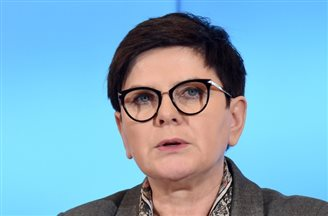 Polish PM holds talks with German Chancellor