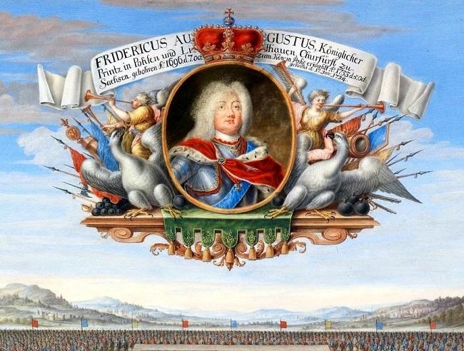 Король польский и великий князь литовский Август III Сас (Саксонец)