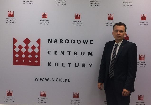 Prof. Rafał Wiśniewski - dyrektor Narodowego Centrum Kultury