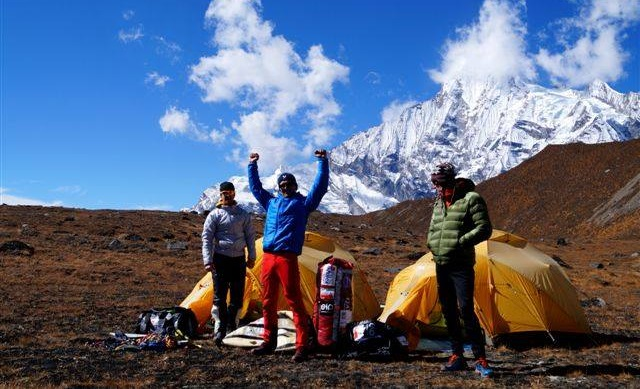 Photo: Facebook.com/Polish Annapurna IV Expedition 2015