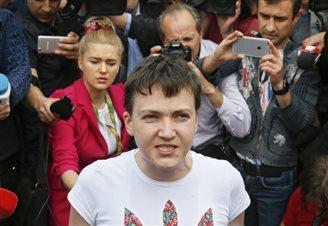 Глава дипломатії ЄС висловила радість з повернення в Україну Надії Савченко