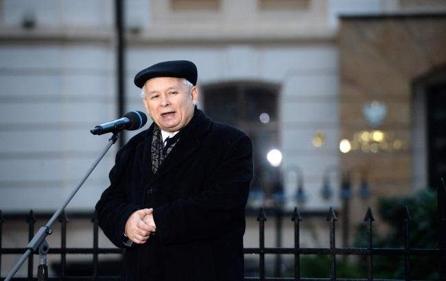 PiS leader Jarosław Kaczyński. Photo: PAP/Jacek Turczyk