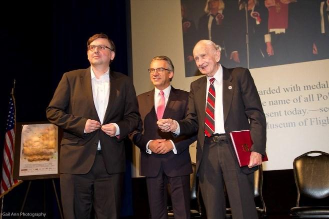 Na zdjęciu od lewej: Sławomir Ciok, Mariusz Brymora, Alexander Herbst.