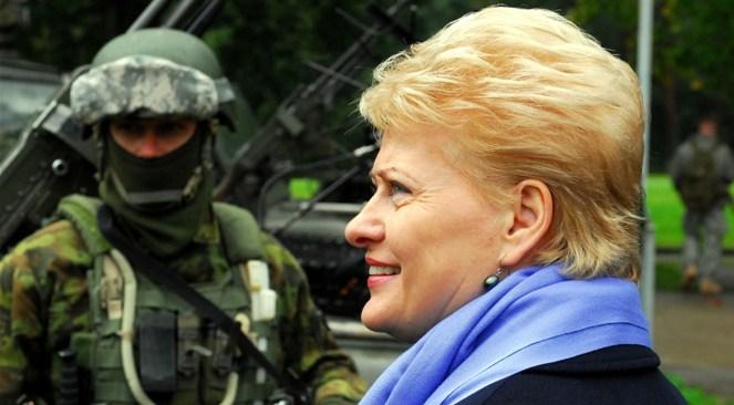 Президент Литви Даля Ґрибаускайте