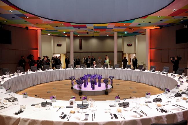 Зал заседаний саммита ЕС