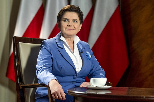 PM Beata Szydło. Photo: KPRM/P. Tracz