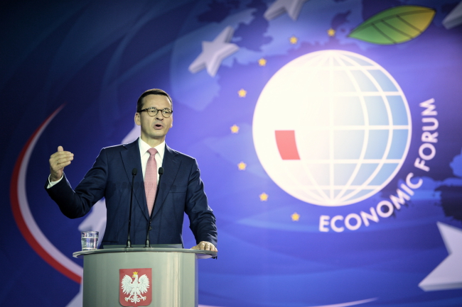 PM Mateusz Morawiecki. Photo: Darek Delmanowicz