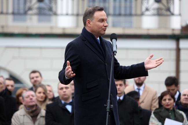 Президент Польши Анджей Дуда.