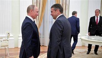 Niemiecki polityk rozmawiał z tubą propagandową Kremla