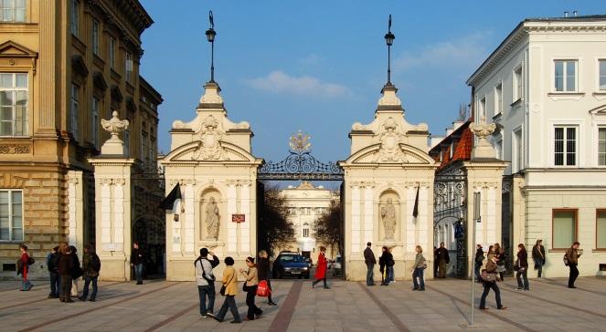 Головна брама Варшавського університету