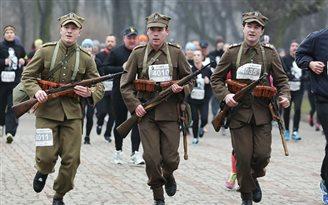 Bieg pamięci Żołnierzy Wyklętych w Wilnie