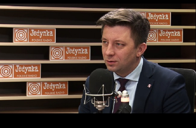 Michał Dworczyk, head of the Polish Prime Minister's Office. Photo: Polish Radio