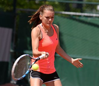 Polish tennis champ Radwańska triumphs in New Haven
