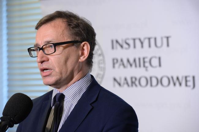 Старшыня Інстытуту нацыянальнай памяці Яраслаў Шарэк.