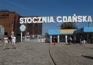 Polish gov't buys back historic shipyard from Ukrainian owner