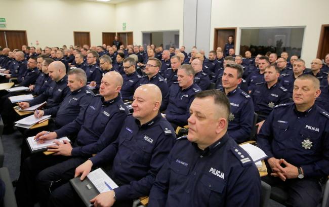 Польские полицейские