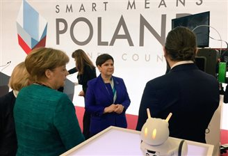 Poland opens its national stand at Hannover Messe