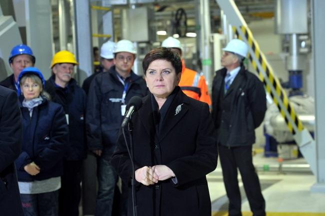 Polish Prime Minister Beata Szydło. Photo: PAP/Marcin Bielecki