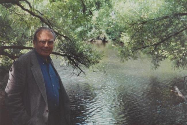Czesław Miłosz in the early 1990s. Photo: milosz.pl.