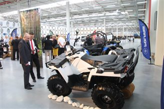 Polaris Industries Inc opens Polish plant