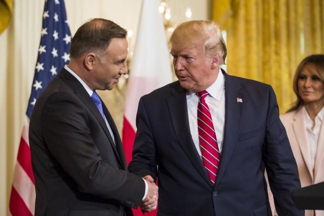 Президенти Польщі та США – Анджей Дуда і Дональд Трамп, Білий дім, 12 червня 2019 року