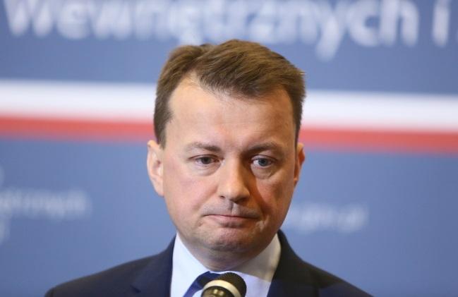 Mariusz Błaszczak. Photo: PAP/Leszek Szymański