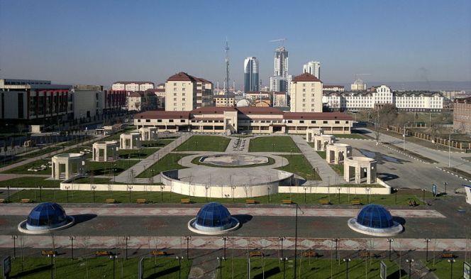 Столиця Чечні Грозний