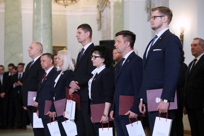 У Польшчы адбылася рэканструкцыя ўраду.