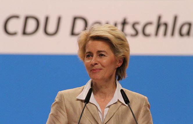 Німецька кандидатка на пост голови Європейської комісії Урсула фон дер Ляєн