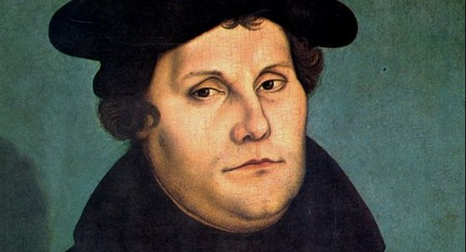 Мартін Лютер на портреті Лукаса Кранаха старшого