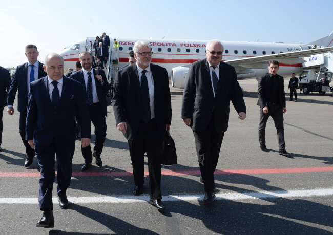 Міністр закордонних справ Польщі Вітольд Ващиковський прибув до Тбілісі, 19 жовтня 2017 року