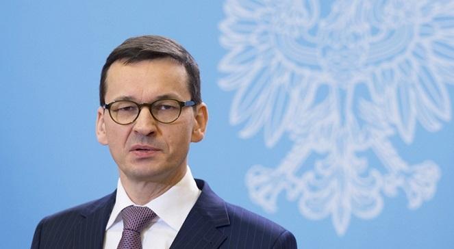 Премьер Польши Матеуш Моравецкий